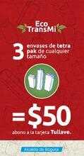 Canjea- 3 envases-tetra-pak por 50 pesos para tu recarga