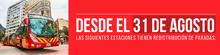 Novedad en paradas de algunas estaciones de TransMilenio