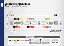 Plano de estación Calle 34