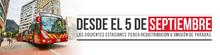Redistribución de paradas en algunas estaciones de TransMilenio