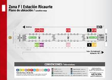 Plano de estación de Ricaurte