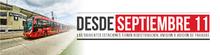 Redistribución de paradas de  algunos servicios de TransMilenio