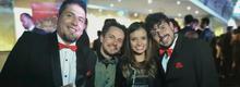 ganadores somoslosmedios con el filmminuto Mister T