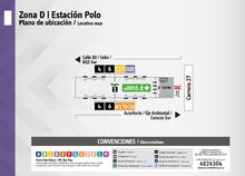 Plano de estación Polo
