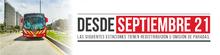 Continúan los cambios operacionales en TransMilenio desde este 21 de septiembre