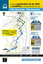 Servicio zonal 113B - Germanía-Villa Alexandra