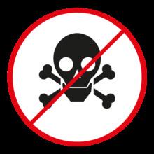 En caso de sustancias peligrosas, reporte al personal autorizado