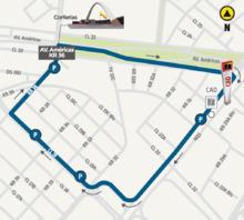 Mapa Ruta Corferias día de votación