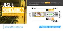 Infografía del cierre del vagón 1 de la estación Niza