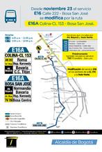 Novedad- ruta-E16A