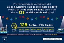128 Centro Villa Gladys horario ajustado para navidad