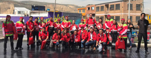 EquipoT en los carnavales de TransMiCable 2019