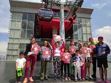 Familias de Ciudad Bolívar en TransMiCable