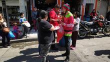 Familias de Ciudad Bolívar en TransMiCable informandose del Carnaval