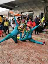 Artistas se toman el carnaval