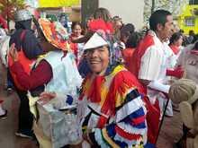 Comparsa del carnaval TransMiCable