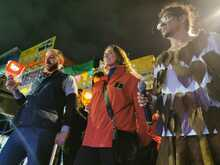 Gerente de TransMilenio, María Consuelo Araújo en Ciudad Bolívar