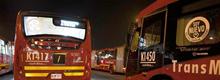 Buses nuevos de TransMilenio a gas natural llegan