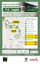 Mapa de la ruta 7-3 Inglés