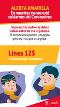 En caso de emergencia y sospecha de Coronavirus
