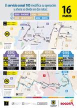 Información de la ruta D-K-202 complemento