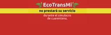 Eco-TransMi no prestará su servicio en el simulacro