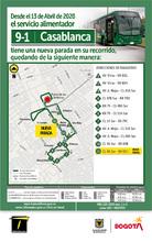 Mapa de la ruta 9-1