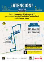 Ruta 13 Hospital Fundación Cardioinfantil