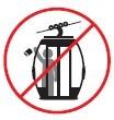 No arroje basura dentro del Sistema