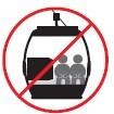 Prohibido ocupar los asientos con objetos