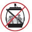 No ingrese con objetos peligrosos