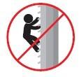 Prohibido subir a las torres