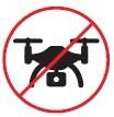 Prohibido el uso de drones