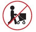 No use los coches de bebes para cargar objetos