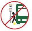 Use el servicio alimentador para viajar a la estación mas cercana.