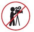 Esta prohibido realizar tomas fotográficas