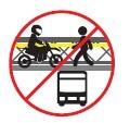 Prohibida la circulación de motos, mototaxis