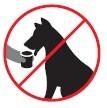 Los animales no deben ser alimentados dentro del Sistema