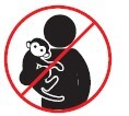 No ingrese con animales salvajes