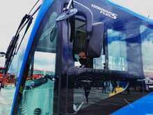 Cabina de bus nuevo del SITP