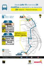Modificación de la ruta Z8