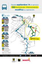 Afiche ruta 166