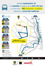 Afiche ruta 192