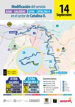Afiche ruta A506- G506