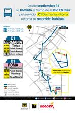 Afiche ruta C1