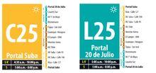 recorrido-de-la ruta-C25-L25