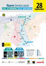 Mapa de la ruta LG510