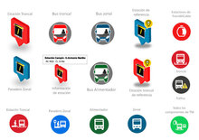 Iconos de TransmiApp