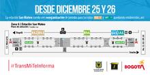 Mapa estaciones rutas TransMilenio