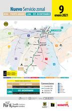 Nuevas rutas zonales en Fontibón